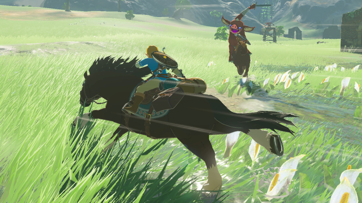 The Legend of Zelda: A Breath of the Wild