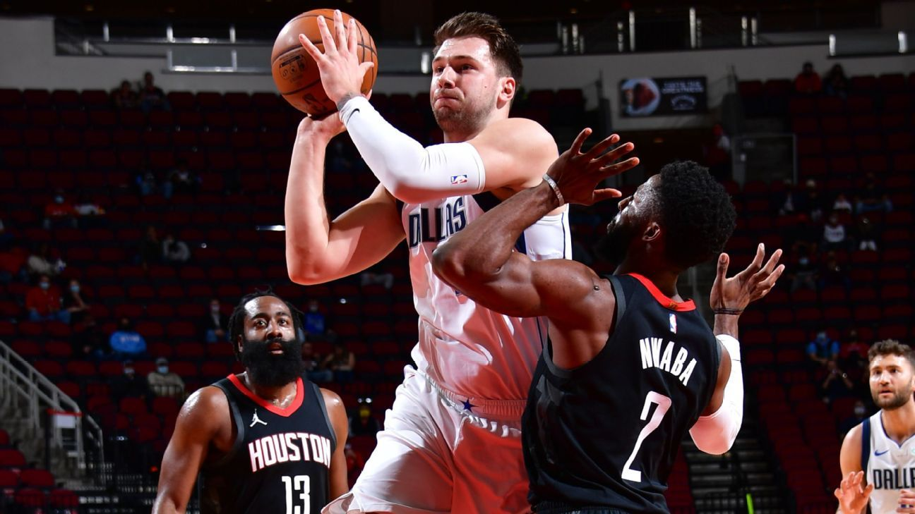 Luca Doncic of the Dallas Mavericks scored his first hat-trick of the season after a slow start